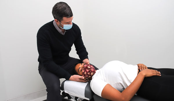 Chiropractor Derek Anderson